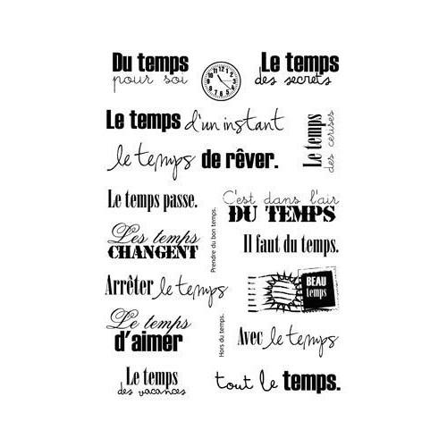 SET 4 TAMPONS A6 LE TEMPS PASSE