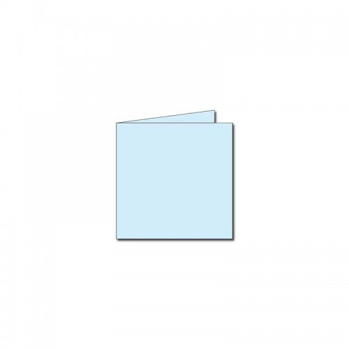 PAQUET 25 CARTES 135X135MM 210G BLEU