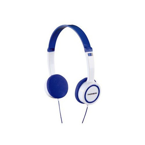 CASQUE STEREO HED 1105P THOMSON BLEU BLA