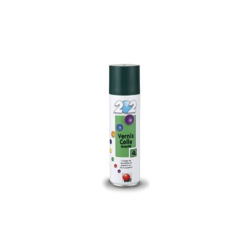 COLLE AEROSOL 400ML VERNIS GRANITE