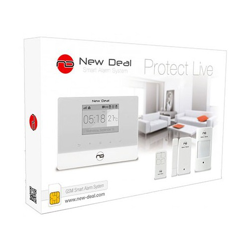 ALARME NEW DEAL PRO-L9 GSM BLANC