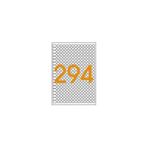 ETIQUETTE A5 X 2940 DIAM8MM ROUGE