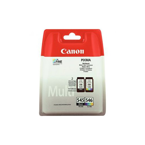 PACK 2 CARTOUCHES JET ENCRE CANON PG545