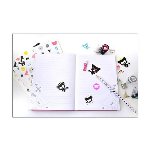 KIT JOURNAL INTIME 23X22CM CHACHA