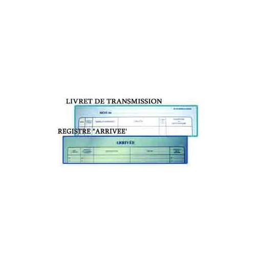 LIVRE DE TRANSMISSION 31X21 TOILE BLEU