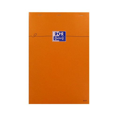 BLOC NOTES A4+ 160P ORANGE Q5X5 80G
