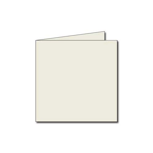 PAQUET 25 CARTES PLIEES 135X135MM 210G