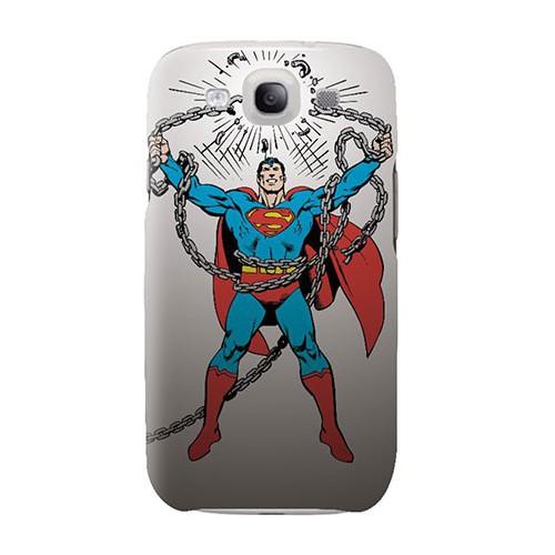 COQUE SAMSUNG GALAXY S3 SUPERMAN CHAINES