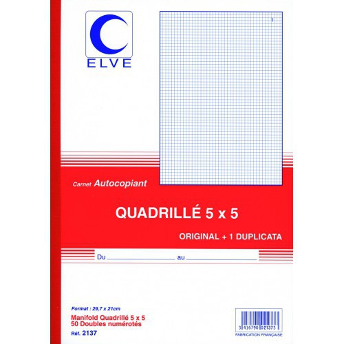 MANIFOLD Q5X5 A4 50F DUPLI NCR