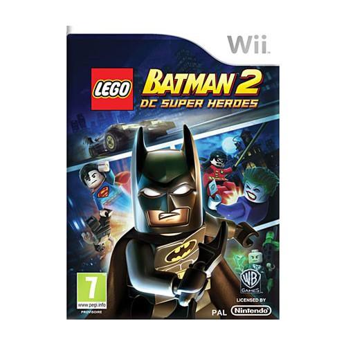 JEU NINTENDO WII LEGO BATMAN 2
