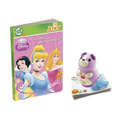 LIVRE INTERACTIF TAG JUNIOR PRINCESSES
