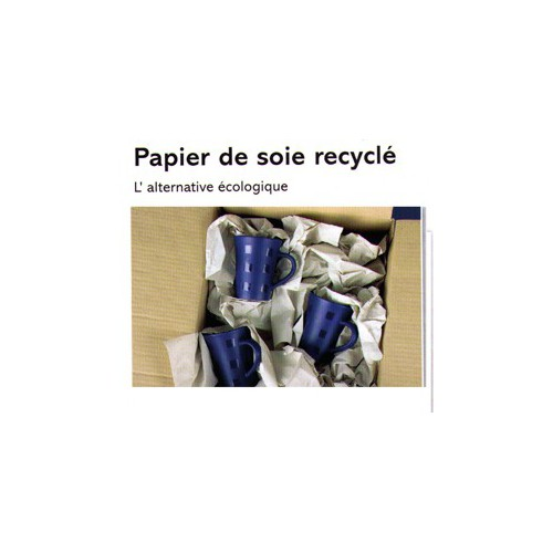 FEUILLE 55X75 PAPIER SOIE RECYCLE