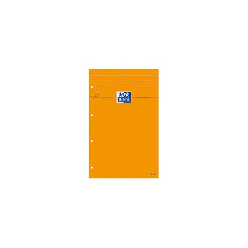 BLOC NOTES 21X31 160P ORANGE Q5X5 80G