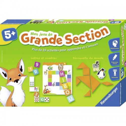 JEU EDUCATIF MES JEUX DE GRANDE SECTION