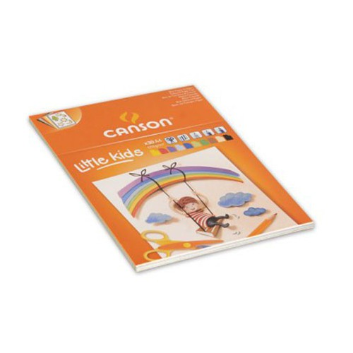 BLOC CANSON KIDS A4 CREATION 120G