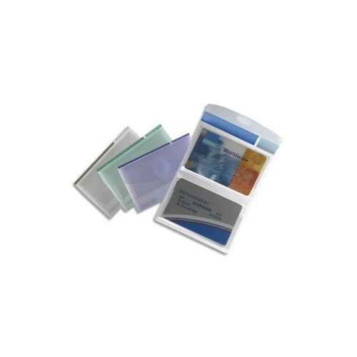 ETUI PVC 8 CARTES CREDIT ASSORTIS