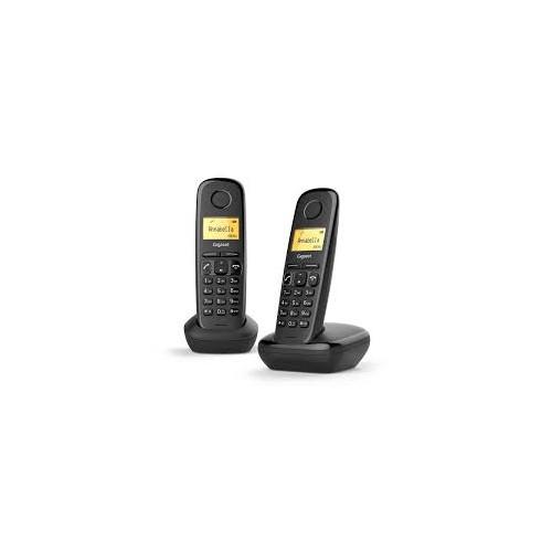 DUO TELEPHONE DECT SIEMENS A170 NOIR