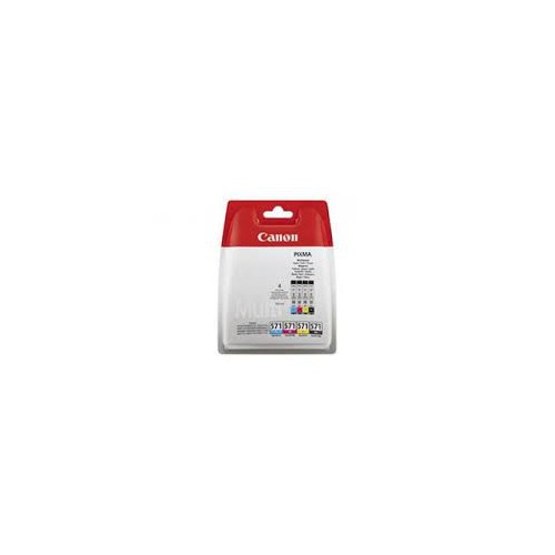 PACK 4 CARTOUCHES JET ENCRE CANON CLI571
