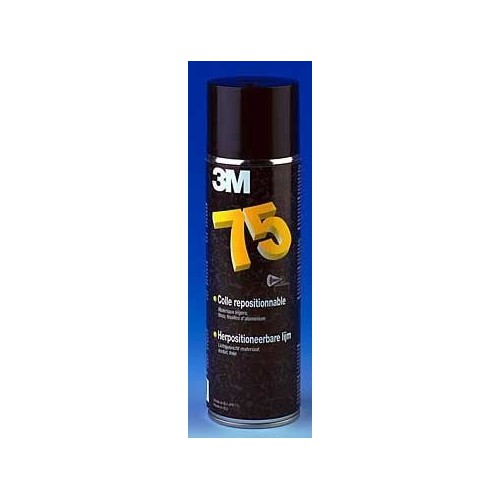 COLLE AEROSOL GRIP 75 TRANSPARENTE