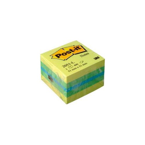 BLOC MINI CUBE POST IT NOTES 51X51MM