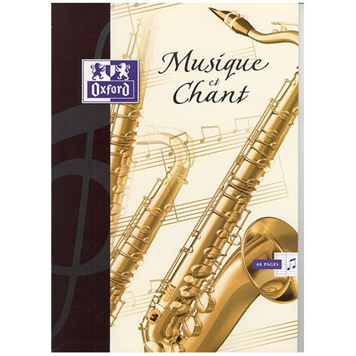 CAHIER MUSIQUE CHANT 24X32 48P SEYES