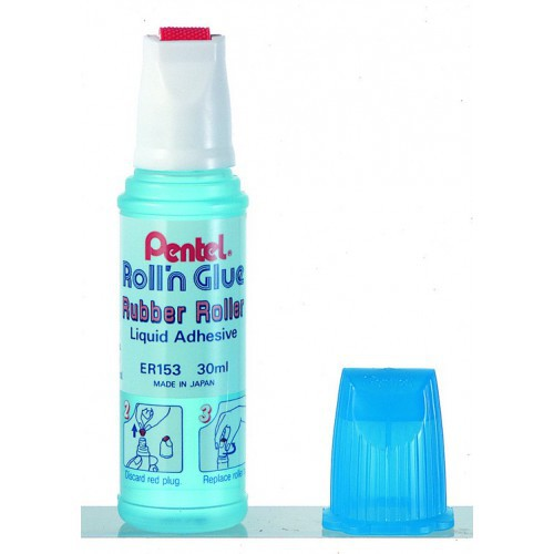 COLLE 33ML ROLL'N GLUE TRANSPARENTE