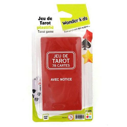 BLISTER 1 JEU DE TAROT 78 CARTES