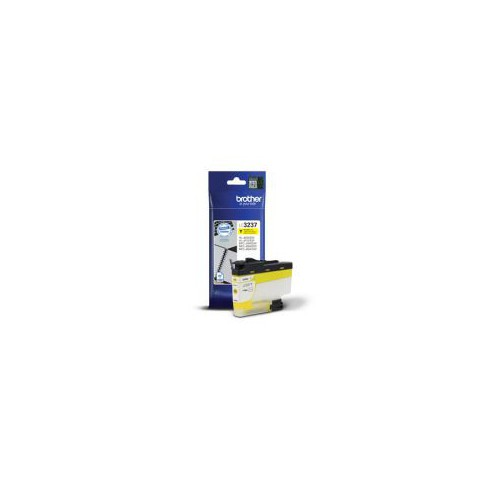CARTOUCHE JET ENCRE BROTHER LC3237 JAUNE