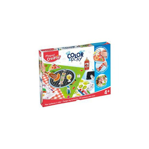 KIT CREATIV COLOR&PLAY MON BARBECUE A