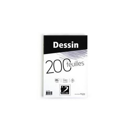 BLOC DESSIN A4 125G ECO 200F