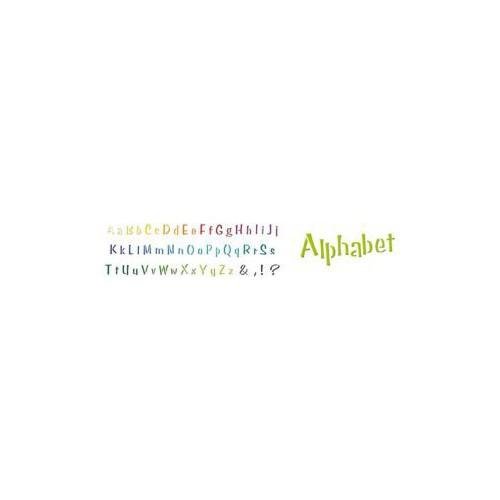 POCHOIR DECOR 15X40CM ALPHABET N 2