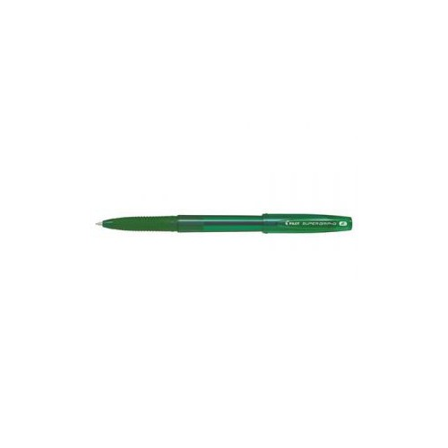 STYLO BILLE PILOT SUPER GRIP G CAP 0.7MM
