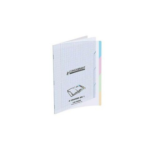 CAHIER PIQURE 24X32 140P 4 ONGLETS SEYES