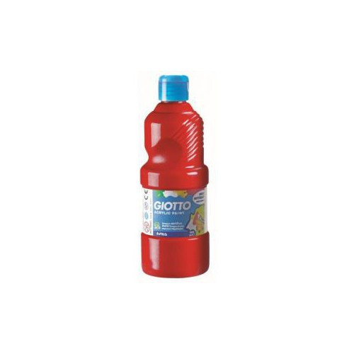 ACRYLIQUE 500ML GIOTTO ROUGE