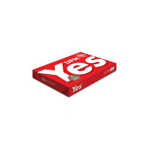 RAME 500F A3 PAPIER REPRO YES ROUGE 80G