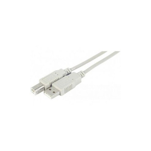 CABLE USB2.0 TYPE A MALE  B MALE 5M