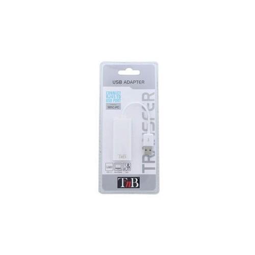 ADAPTATEUR USB 2.0  RJ45 TNB BLANC