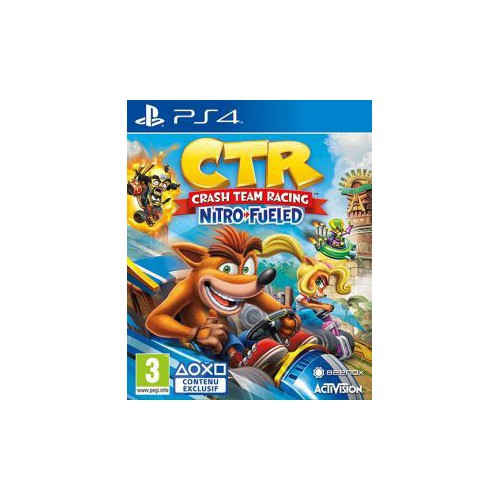 JEU SONY PS4 CRASH TEAM RACING NITRO