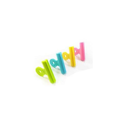 LOT 4 PINCES A DESSIN 51MM PVC ASSORTIES