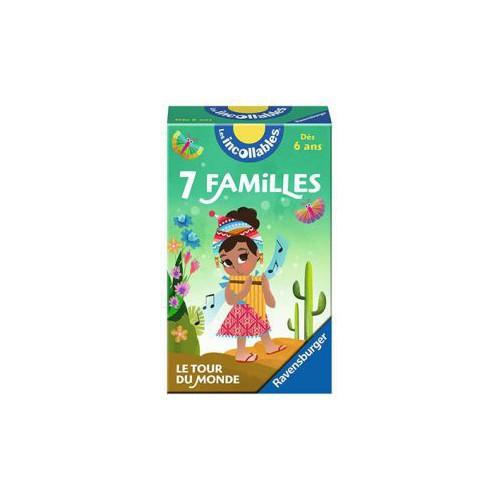 JEU 7 FAMILLES INCOLLABLES TOUR DU MONDE