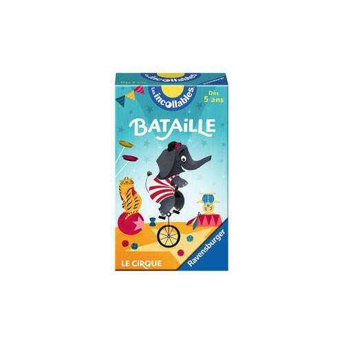 JEU BATAILLE INCOLLABLES LE CIRQUE