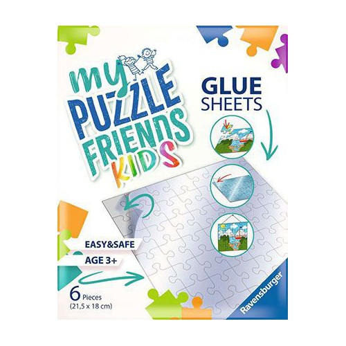 PACK FEUILLES ADHESIVES POUR PUZZLE