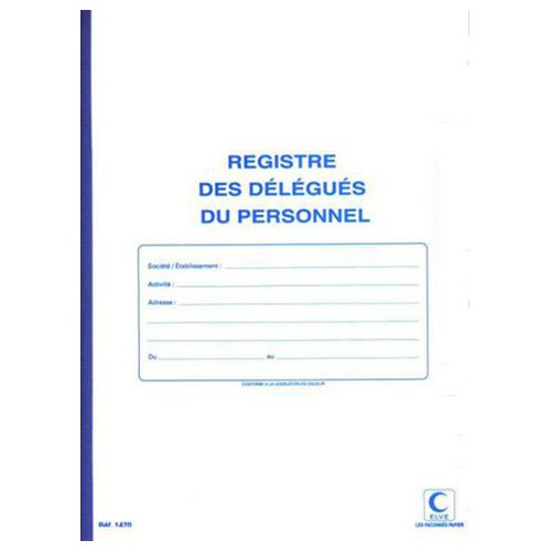 PIQURE 31X24 40P DELEGUE DU PERSONNEL