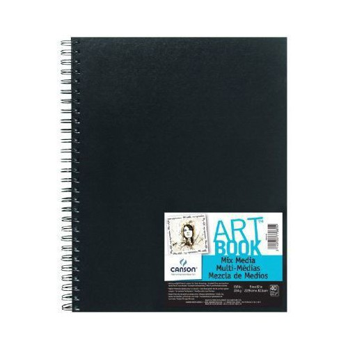 BLOC DESSIN 22.9X30.5 224G ART BOOK MIX