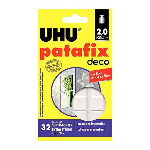 BLISTER 32 PASTILLES PATE A FIXER UHU