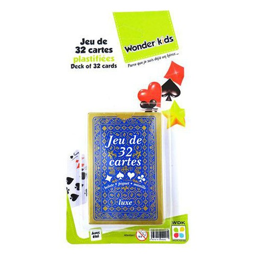 BLISTER 1 JEU 32 CARTES