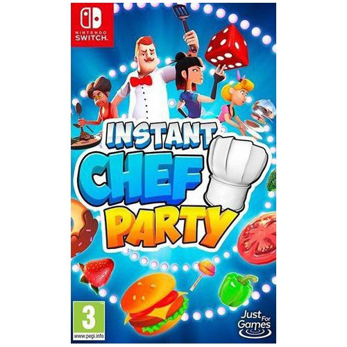 JEU NINTENDO SWITCH INSTANT CHEF PARTY
