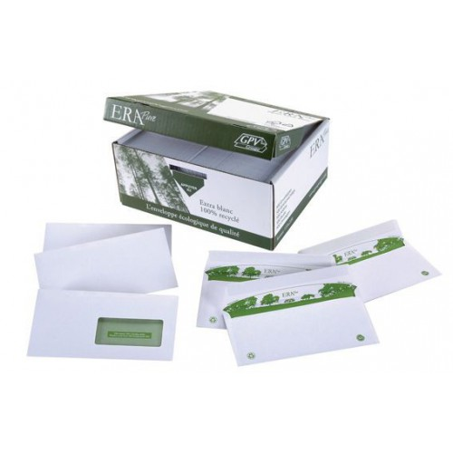 ETUI 50 ENVELOPPES BLANCHES 114X162MM