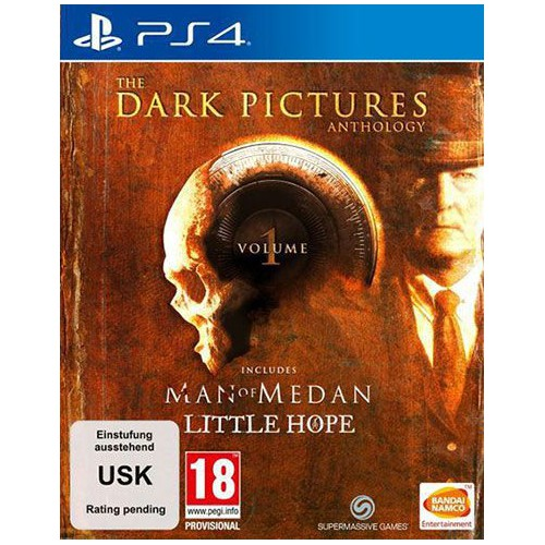 JEU SONY PS4 DARK PICTURES VOL 1 MAN OF