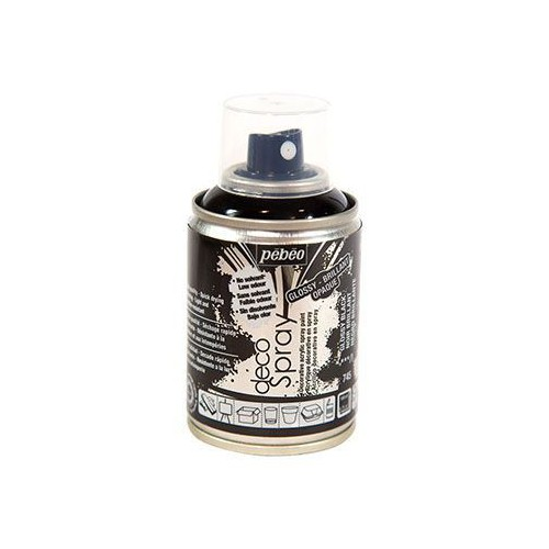 AEROSOL 100ML DECOSPRAY BRILLANT NOIR